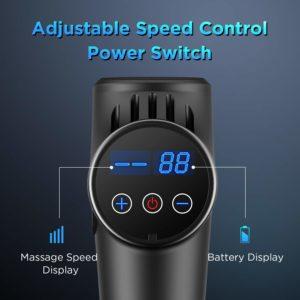 LCD-Display ABOX Massagepistole