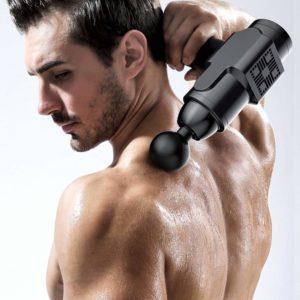 Massagepistole für die Nack-und Schultermuskulatur